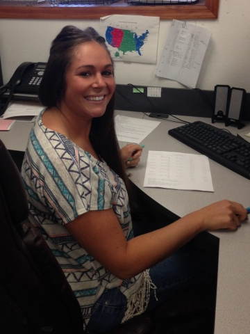 Crystal is our Accounting front office manager
